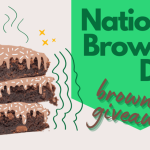 Enter to Win: Where's Weed National Brownie Day Giveaway