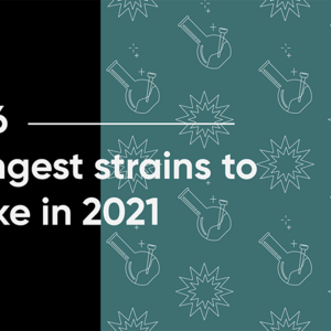 Top 6 Strongest Strains to Smoke in 2021