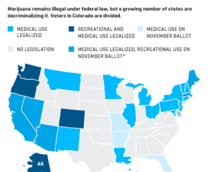How Legalized Marijuana Is Sweeping the U.S.—in One Map