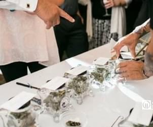 Marijuana stations are the latest trend in wedding receptions