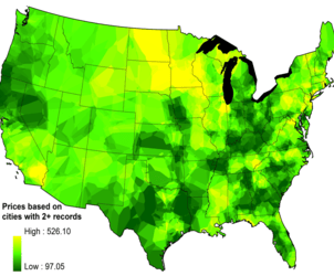 This is the First Map to Prove How Valuable Legalizing Marijuana Would Be For America