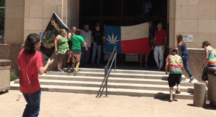 Lubbock marijuana reform organization marches to courthouse Saturday
