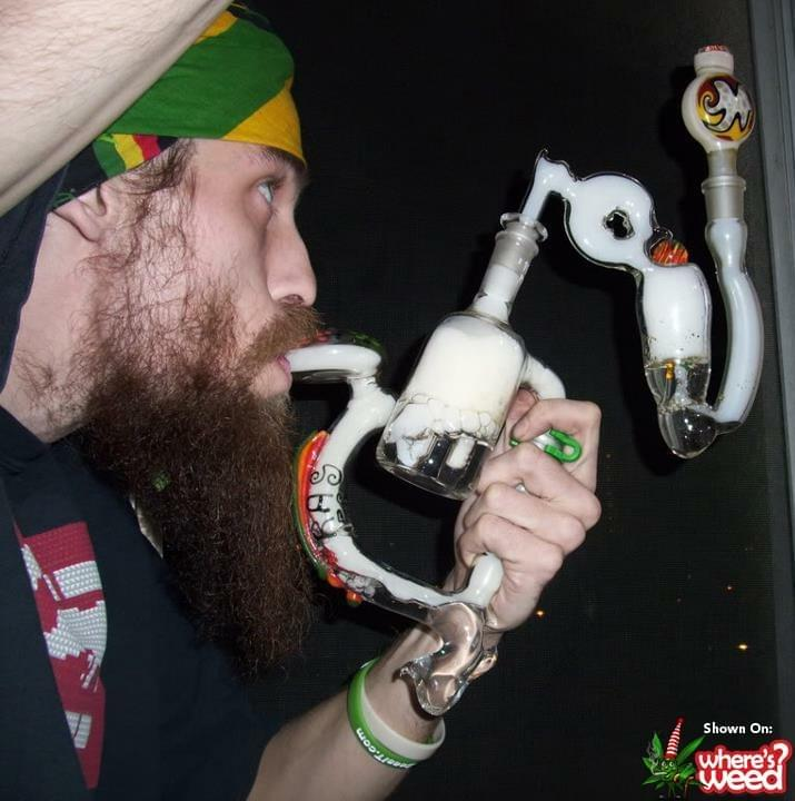 Crazy Cannabis Pipe