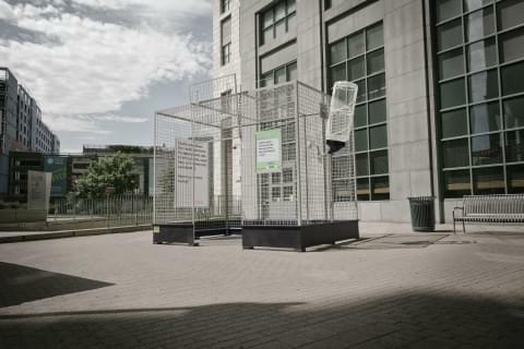 "Colorado uses human sized ""rat cages"" in anti-marijuana campaign"