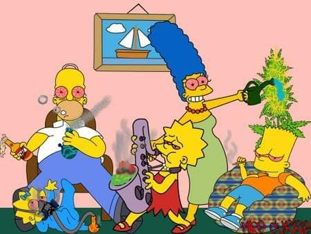 How the Simpson's get High