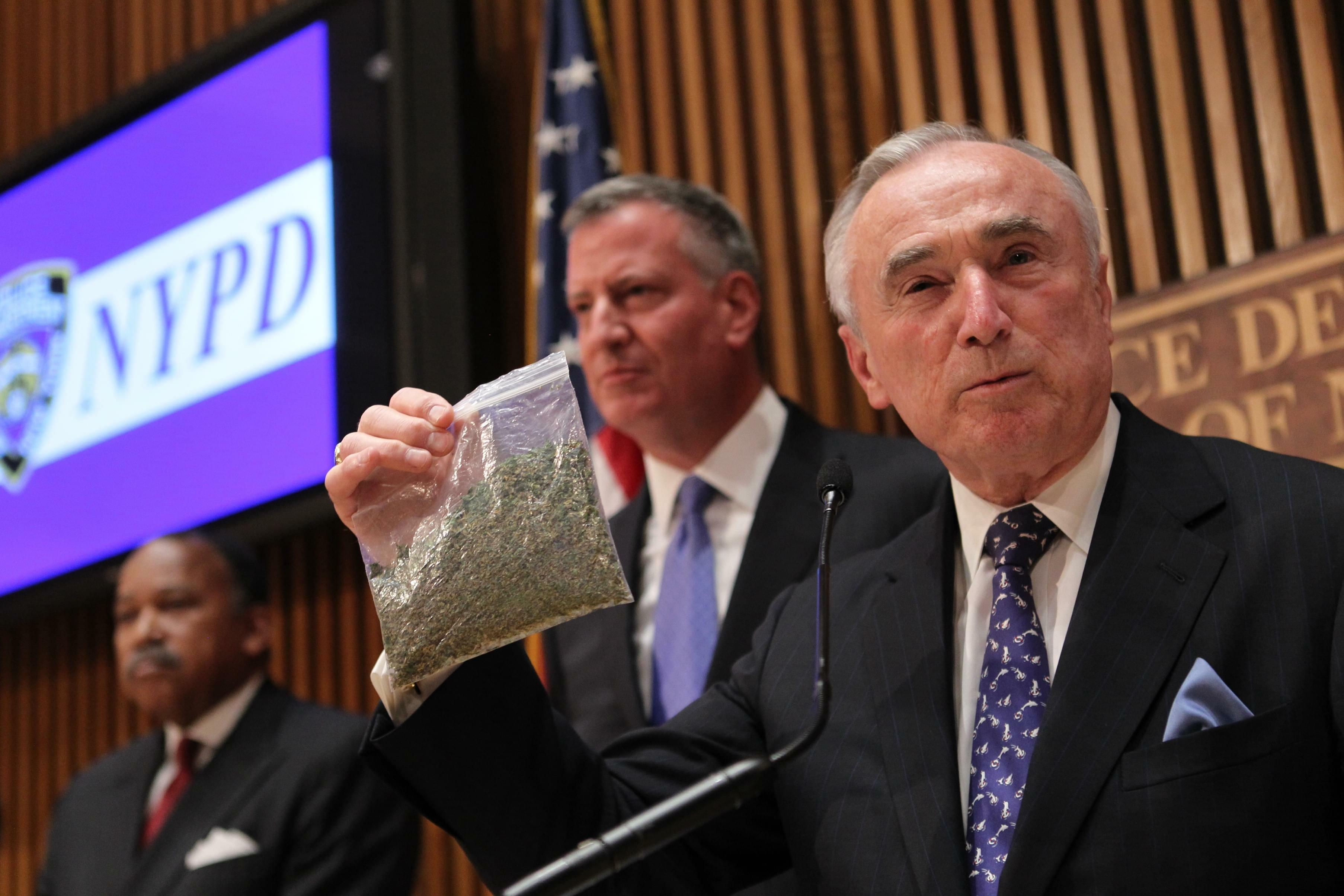NYPD commissioner blames legal marijuana in Colorado for increase in New York shootings