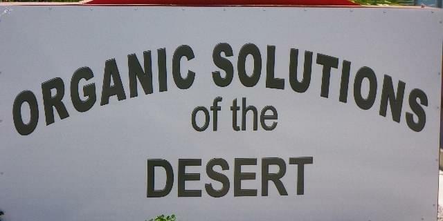 Organic Solutions of the Desert | Palm Springs Marijuana