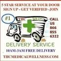 THC Medical Wellness Delivery Marijuana Dispensary