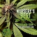 NURSERY'S BEST MMJ DELIVERY Marijuana Delivery Service