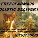 Free 2 Farm 420 Marijuana Delivery Service