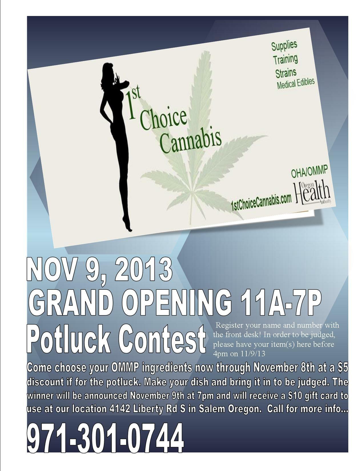 1st choice cannabis