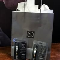 Optional Free Gift Bag with Purchase of (2) Pen Set: (1) Satavia & (1) Indica  500MG Vape Cart