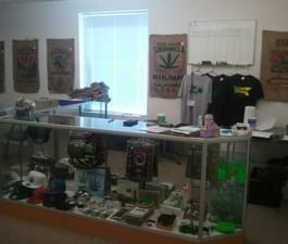 Get some meds or check out our wares in the sales room.