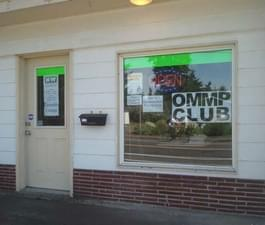 Club open to OMMP Card holders only