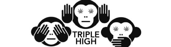 Triple High // 3 carts for $120 or 4 carts $150/