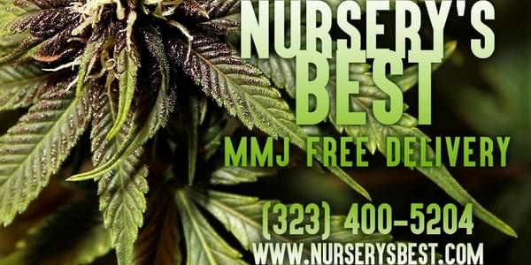 NURSERY'S BEST MMJ DELIVERY | Los Angeles County & Orange County