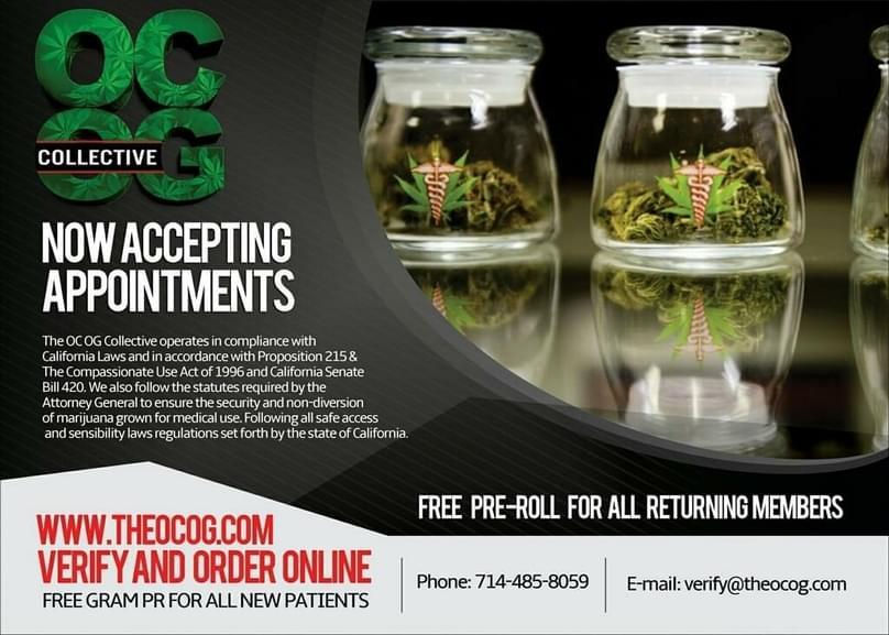 OCOG Photos | Anaheim Marijuana Dispensaries
